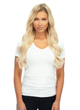 "BELLAMI Silk Seam 140g 18"" Rooted Ash Brown/Honey Blonde (8/20/24/60) Hair Extensions"