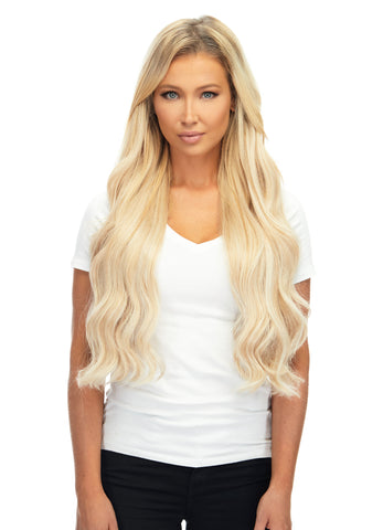 "BELLAMI Silk Seam 260g 24"" Rooted Ash Brown/Honey Blonde (8/20/24/60) Hair Extensions"