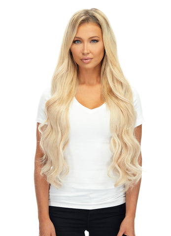 "BELLAMI Silk Seam 360g 26"" Rooted Ash Brown/Honey Blonde (8/20/24/60) Hair Extensions"