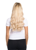 "BELLAMI Silk Seam 140g 16"" Rooted Cool Brown (17/P10/16/60) Hair Extensions"