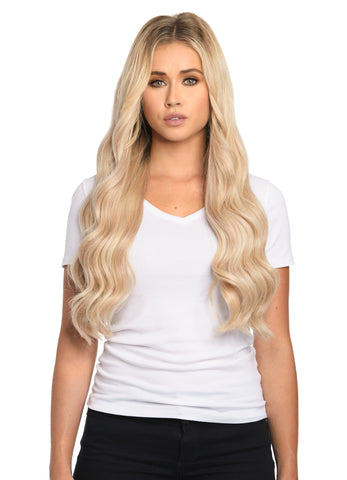 "BELLAMI Silk Seam 180g 20"" Rooted Cool Brown (17/P10/16/60) Hair Extensions"