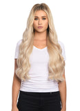 "BELLAMI Silk Seam 240g 22"" Rooted Cool Brown (17/P10/16/60) Hair Extensions"