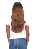 "BELLAMI Silk Seam 140g 18"" Rooted Off Black/Almond Brown  (1B/7) Hair Extensions"