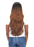 "BELLAMI Silk Seam 240g 22"" Rooted Off Black/Almond Brown  (1B/7) Hair Extensions"
