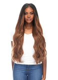 "BELLAMI Silk Seam 360g 26"" Rooted Off Black/Almond Brown (1B/7) Hair Extensions"