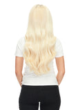 "BELLAMI Silk Seam 140g 18"" Rooted Walnut Brown/Ash Blonde  (3/60) Hair Extensions"
