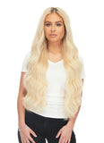 "BELLAMI Silk Seam 360g 26"" Rooted Walnut Brown/Ash Blonde (3/60) Hair Extensions"