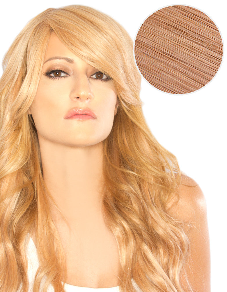 Side Swept Clip In Bangs Straw...