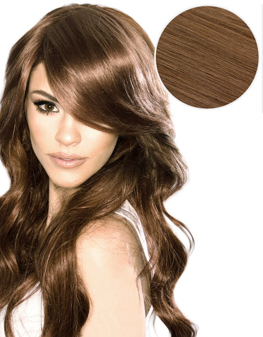 Side Swept Clip In Bangs Chestnut Brown (6)