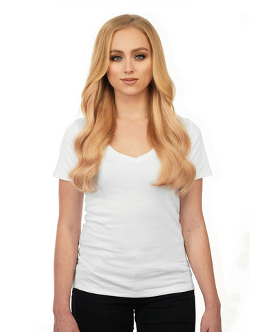 "BELLAMI Silk Seam 140g 16"" Strawberry Blonde (27) Hair Extensions"