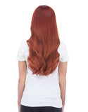 "BELLAMI Silk Seam 180g 20"" Vibrant Red (33) Hair Extensions"