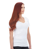 "BELLAMI Silk Seam 140g 16"" Vibrant Red (33) Hair Extensions"