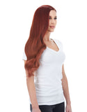 "BELLAMI Silk Seam 240g 22"" Vibrant Red (33) Hair Extensions"