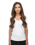 "BELLAMI Silk Seam 180g 20"" Walnut Brown (3) Hair Extensions"