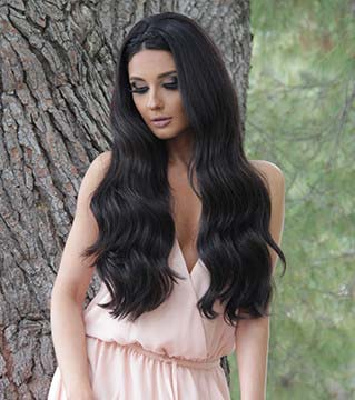Bambina 160g 20 jet black hair extensions 1 bellami hair winners are announced bellamihair each month by entering my email i agree to be subscribed to the bellami newsletter pmusecretfo Image collections