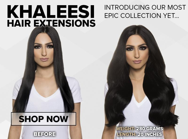 khaleesi hair extensions