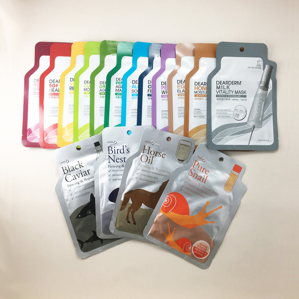 Sheet Mask Sampler - 10 Pack