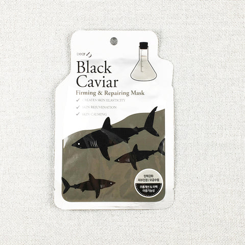 Sheet Mask -  Black Caviar