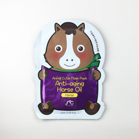 Animal Cutie Mask - Anti-Aging Horse Oil