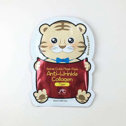 Animal Cutie Mask - Anti-Wrinkle Collagen Tiger