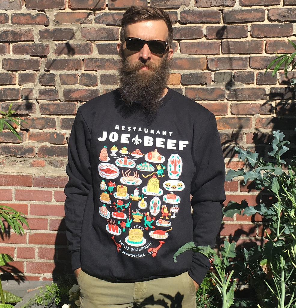 Cotton Ouatté Joe Beef Sweatshirt