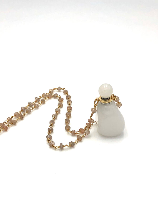 Love Potion Bottle Neckalce