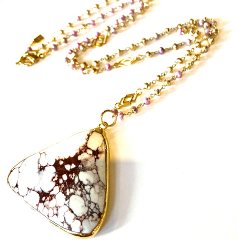 Mystic Agate Necklace