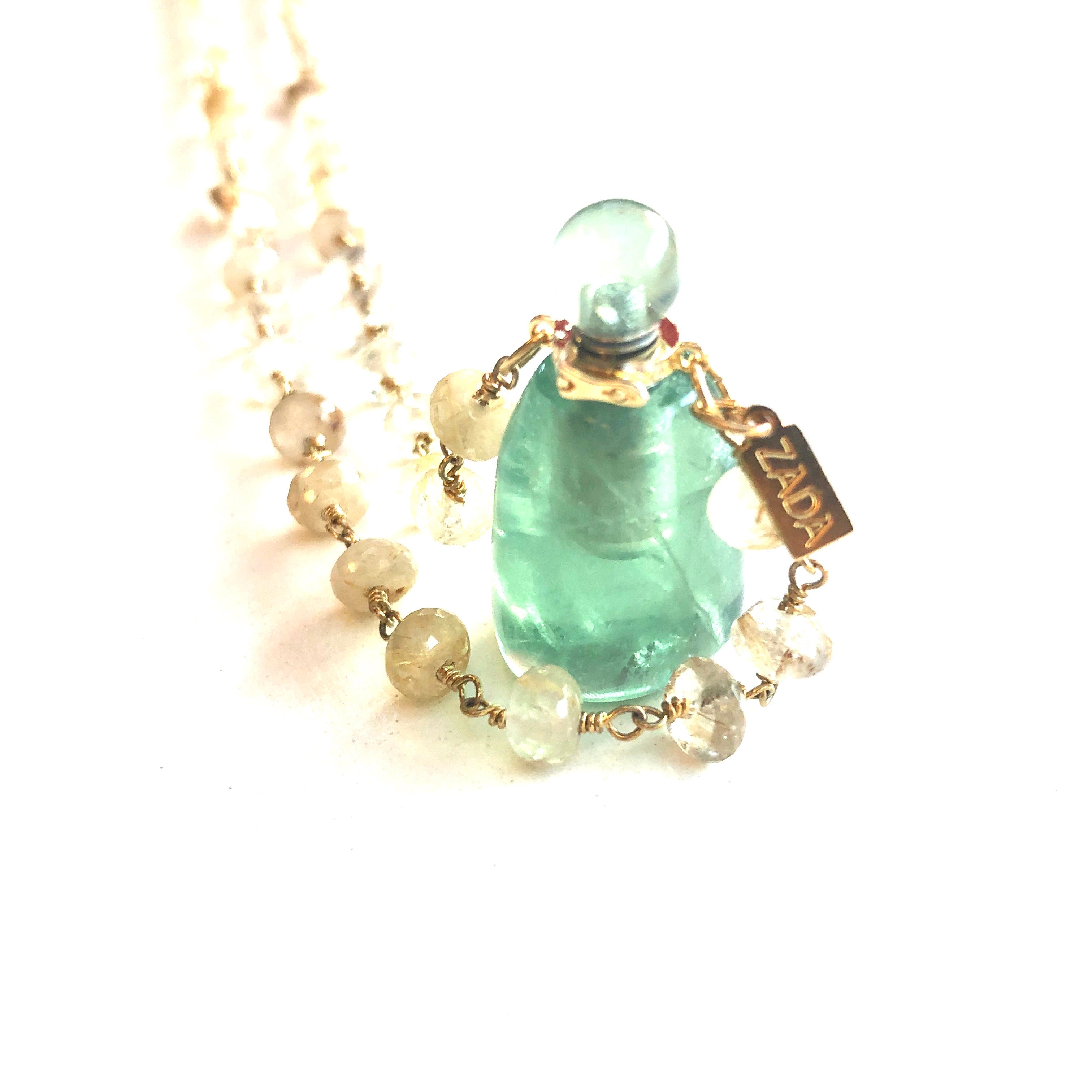 Love Potion Bottle Necklace
