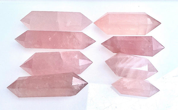 Rose Quartz Double Terminated Crystal