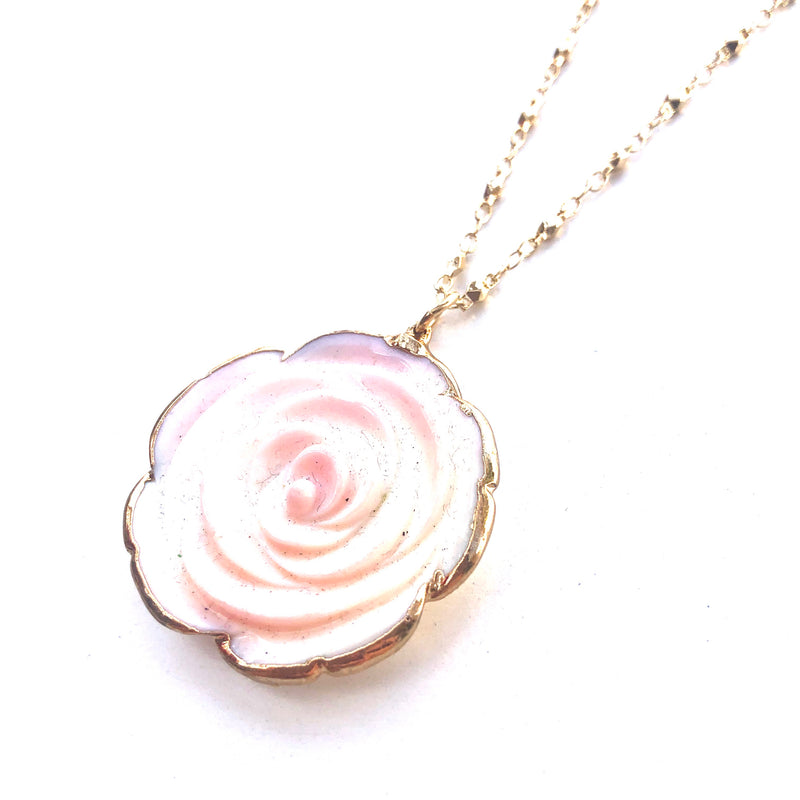 Rose Shaped Necklace