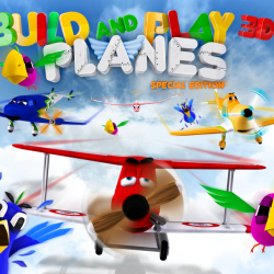 Build and Play 3d Planes