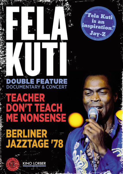 Fela Kuti Double Feature: Documentary & Concert (DVD)