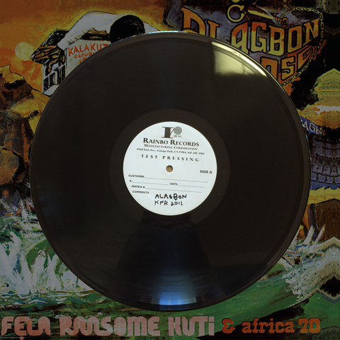Alagbon Close Test Pressing