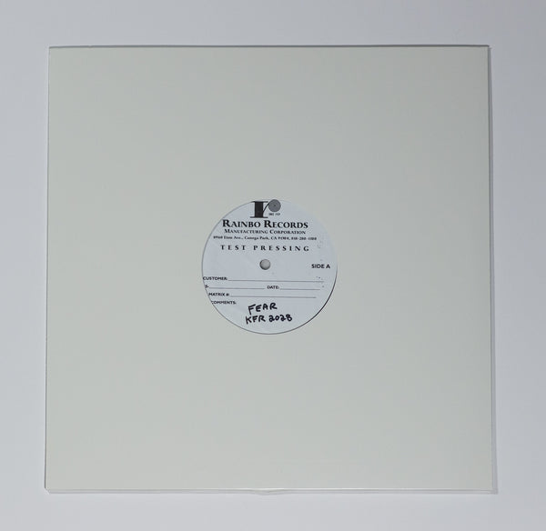 Fear Not For Man Test Pressing