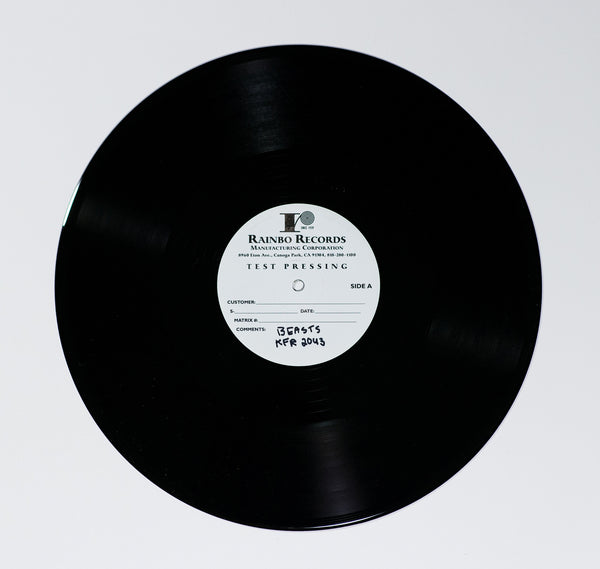 Beasts of No Nation Test Pressing