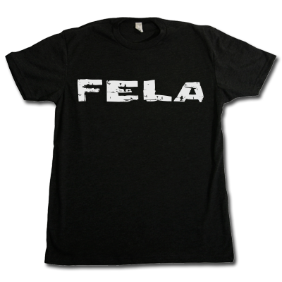 Fela Logo T-Shirt (Black) (Small)