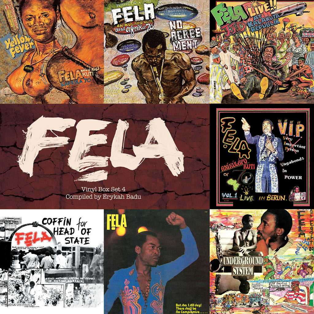 Fela Kuti Box Set 4 Curated By Erykah Badu Regular Trademark 1