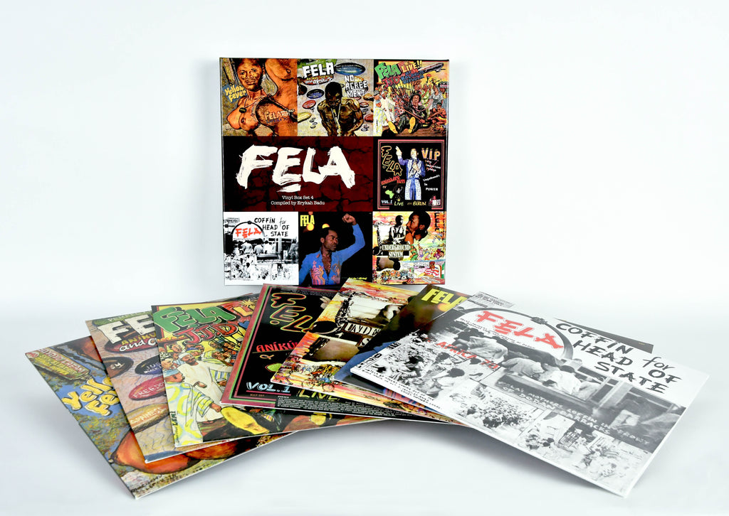 Image result for Fela Kuti: Box Set 4