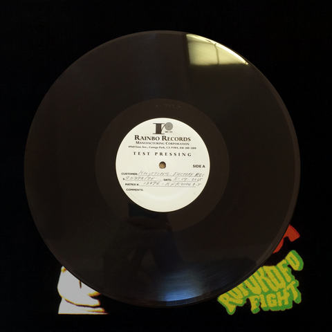 Roforofo Fight Test Pressing
