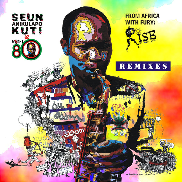 Seun Kuti & Egypt 80 - From Africa With Fury: Rise Remixes (2013)