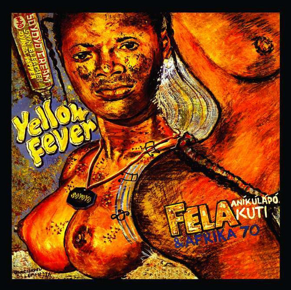"""Yellow Fever"" Limited Edition Poster - Lemi Ghariokwu"