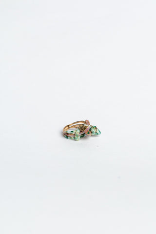 Twisted Snake Ring