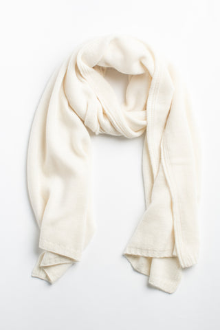 The Ruffle Shawl-Tan