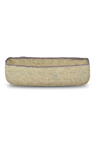 Handwoven Rectangular Basket