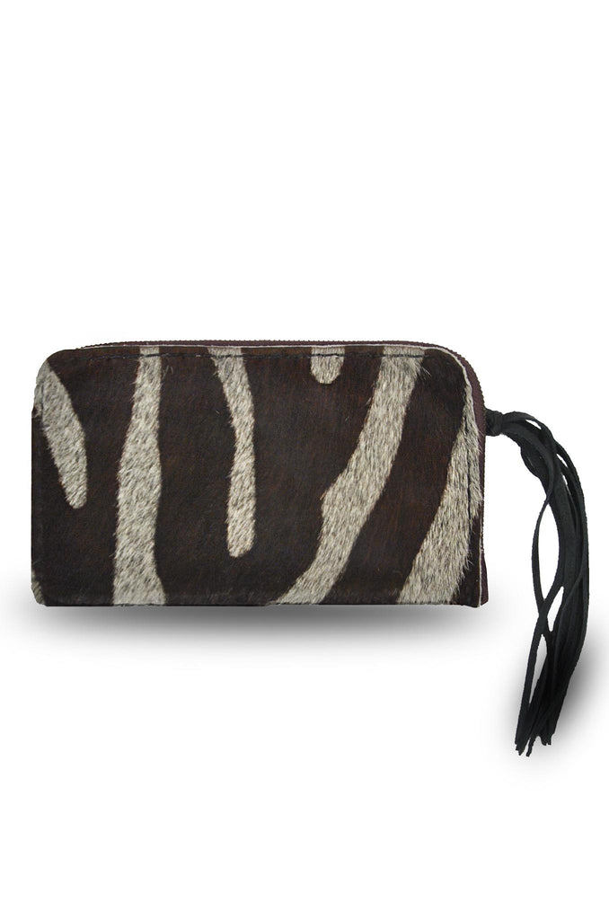 Black and White Cebra Clutch