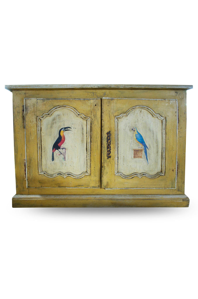 Hand Painted 19th Century Buffet