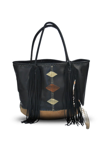 Rocio G Black Chimango Bag
