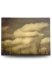 Soft Clouds Encaustic Photo (36