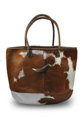 Cowhide Travel Bag