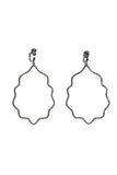 Pavé Diamond Quatrefoil Earrings